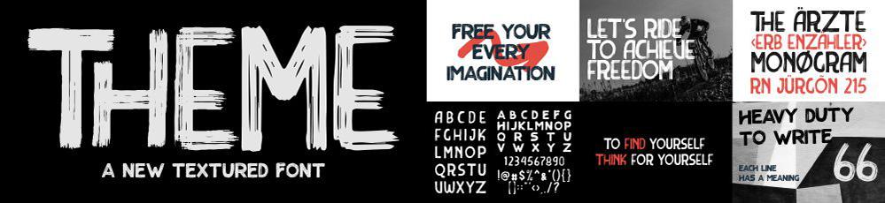 Theme Font by Garisman